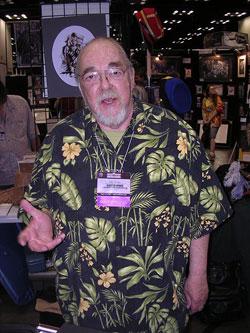Gary Gygax alla ultima GenCon del 2007